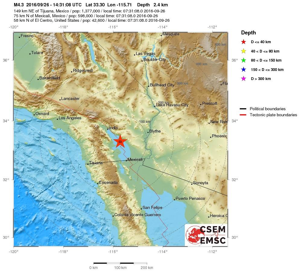 seismic activity in california Here in southern california, the junction of two major faults – the san  pressure  that builds and occasionally lets loose with seismic activity.