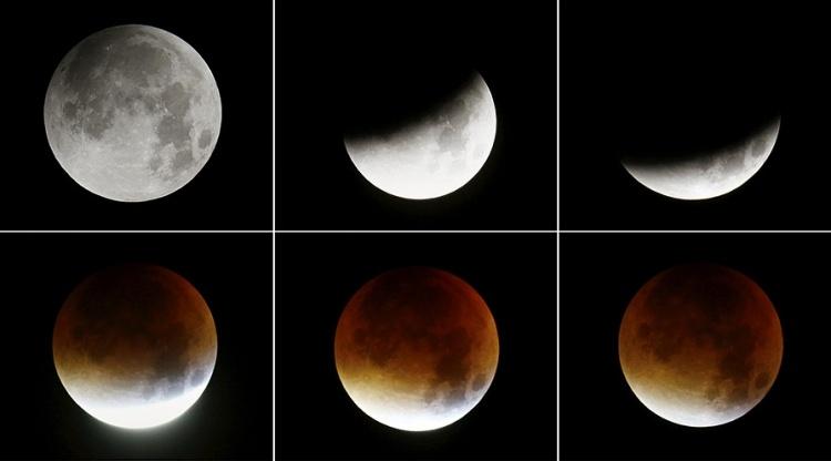 Как правильно пишется затмение луны илизатмение луны